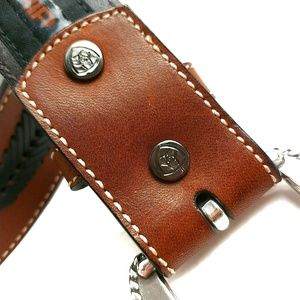 Ariat Accessories - Ariat Full Grain Leather Belt With Grip Strip 36